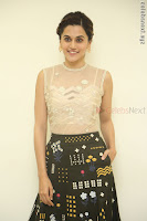 Taapsee Pannu in transparent top at Anando hma theatrical trailer launch ~  Exclusive 016.JPG