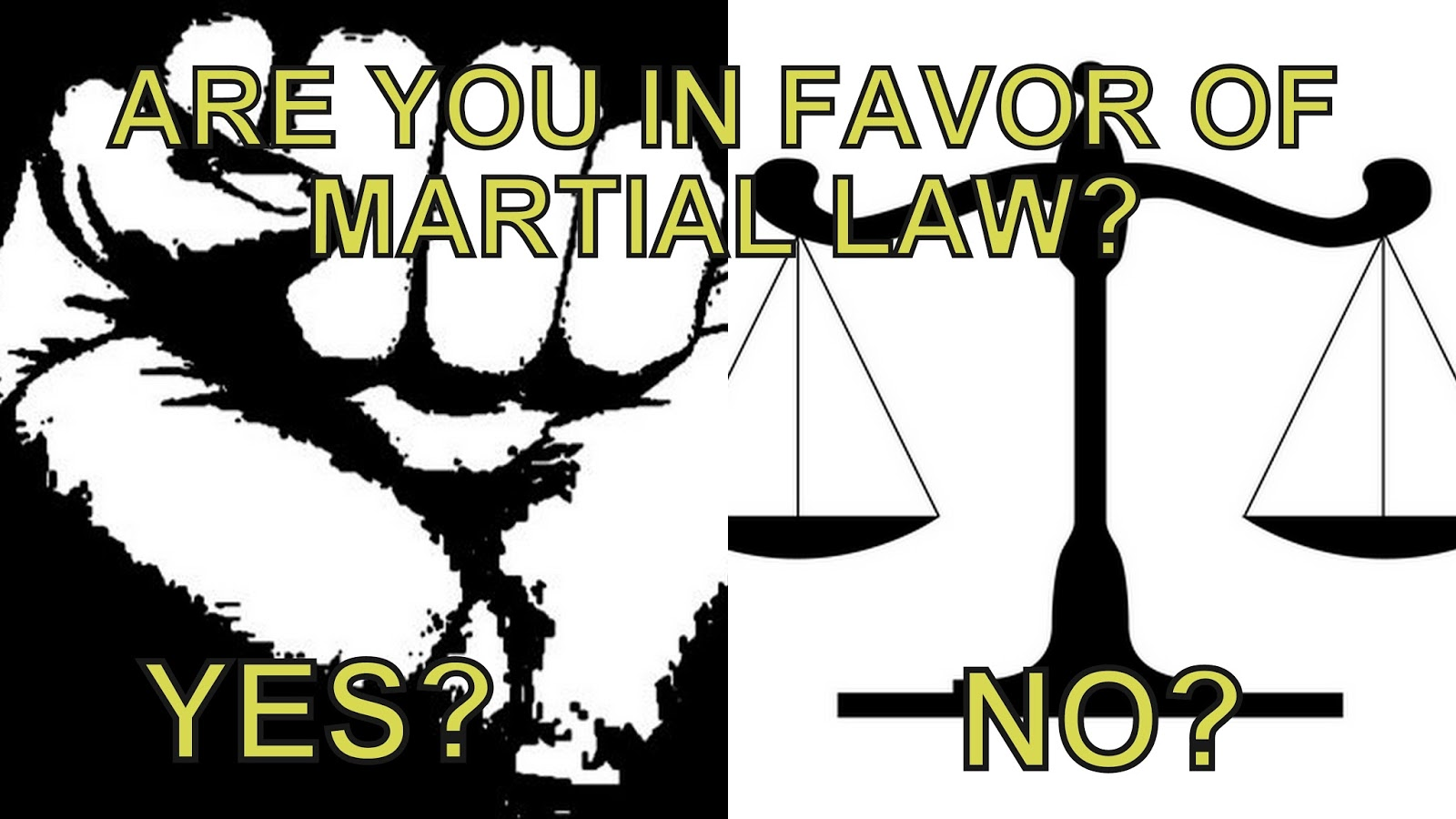 Martial law - what is it What does the imposition of martial law in the country mean