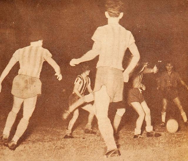 Paraguay y Chile en Campeonato Sudamericano de 1947