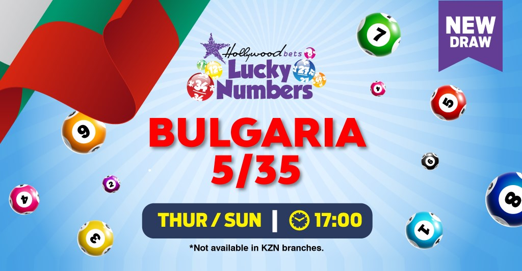 Bulgaria 5/35 - Lucky Numbers - Hollywoodbets