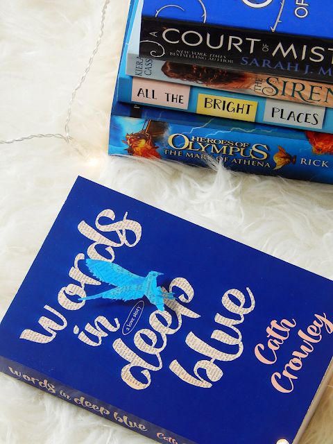 Words In Deep Blue No Spoiler Book Review | sprinkledpages