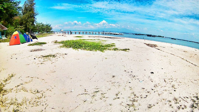 foto pemandangan pulau panjang jepara