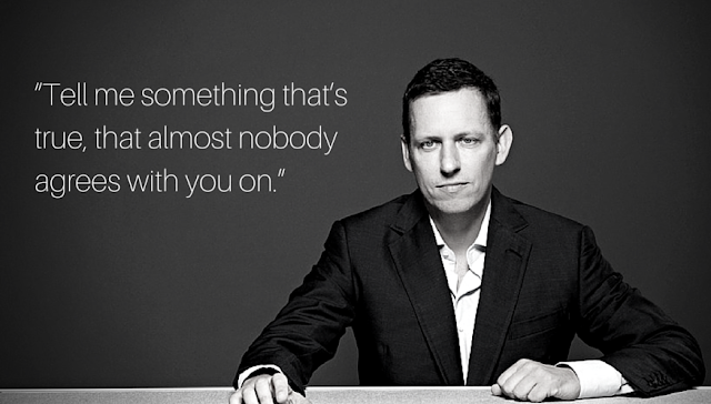 Peter Thiel Motivational Entrepreneur Quotes startup quote Facebook Paypal LinkedIn Gawker