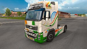 Incredible India v2 paint job for Volvo 2009
