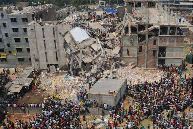 Desabamento fábrica Rana Plaza, Dacca, Bangladesh