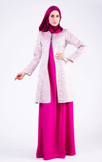 Inilah 10 Style Fashion Hijab Modern Formal Terbarik 2016
