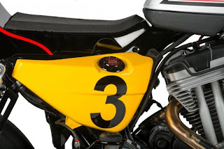 xrcr xr1200 cafe racer by shaw speed oil tank side right