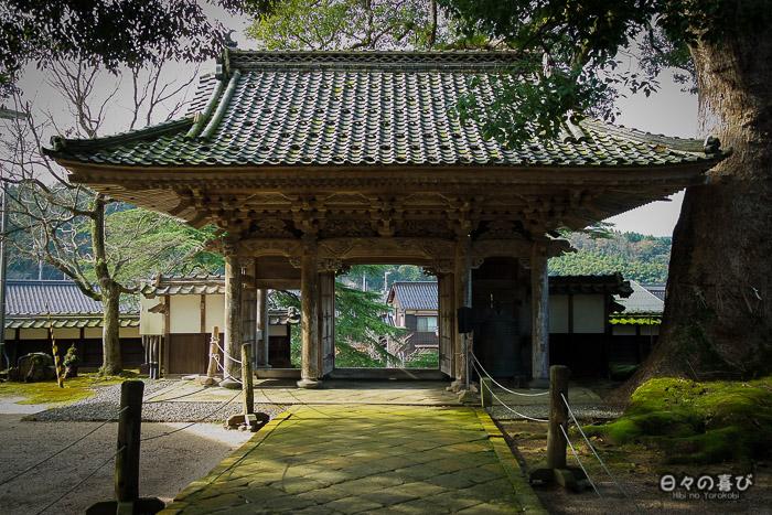 porte entrée temple daijoji