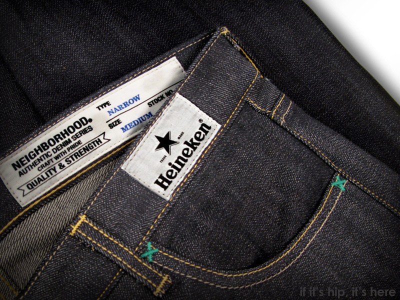 heineken does denim