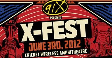 san diego: dialed in: X-Fest 2012 Lineup Announced