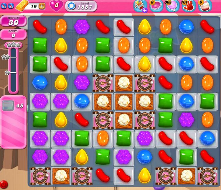 Candy Crush Saga 1857