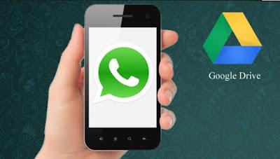 compia de seguridad de whatsapp hacia google drive