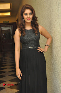 Actress Surabhi Stills in Black Long Dress at turodu Audio Launch  0023.JPG