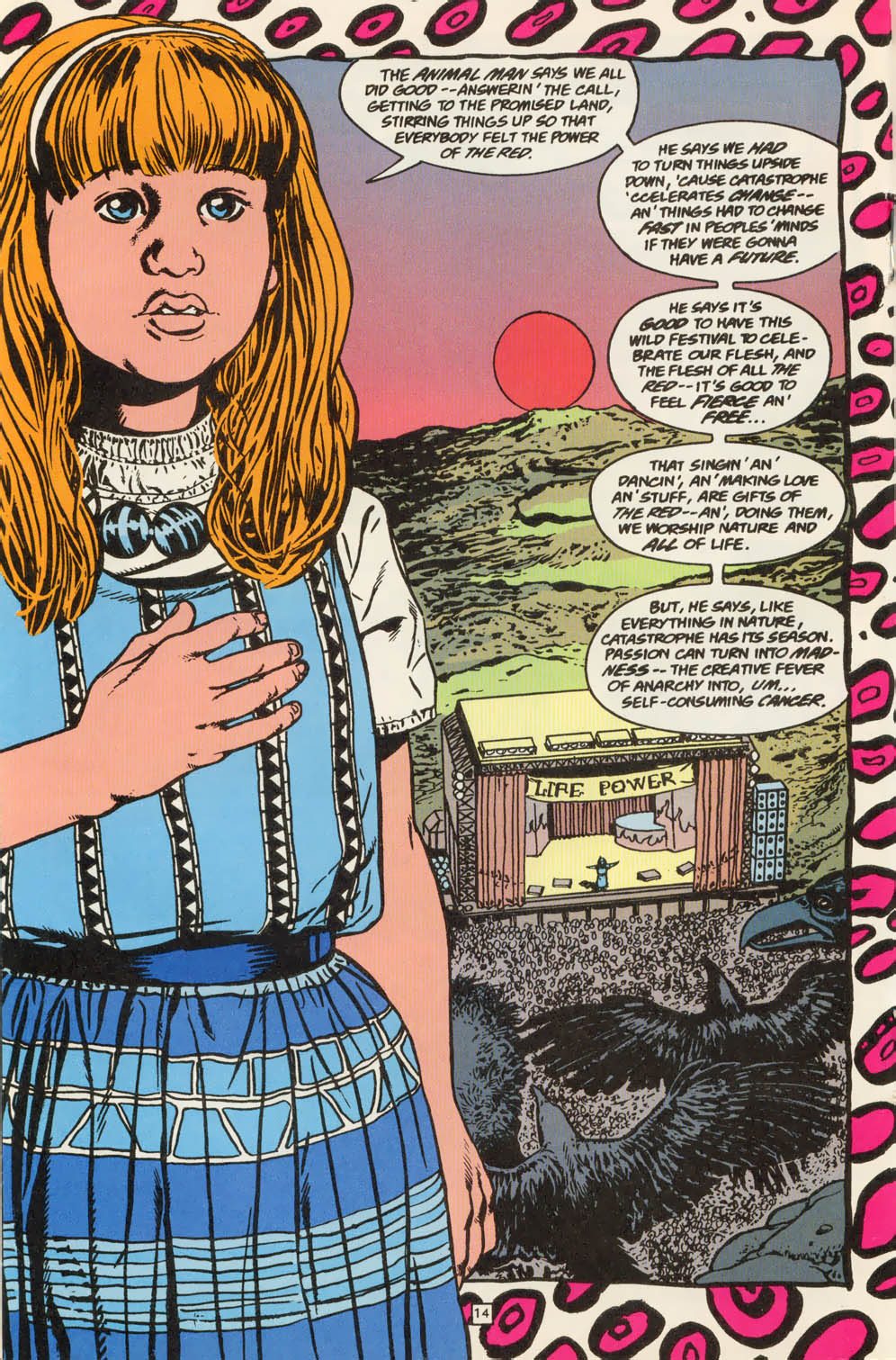 Read online Animal Man (1988) comic -  Issue #79 - 14