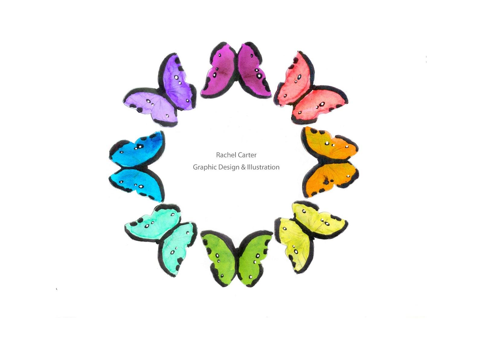 Rachel Carter Graphic Designillustration Portfolio Pages