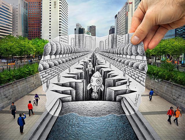 foto unik lucu kreatif keren dan sangat luar biasa-6