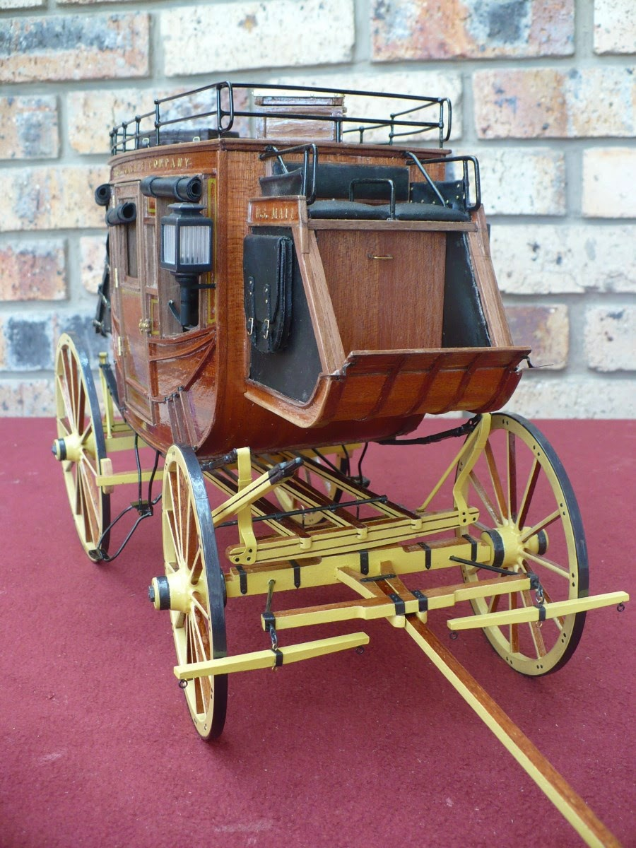 Mike S Models Stagecoach 1848