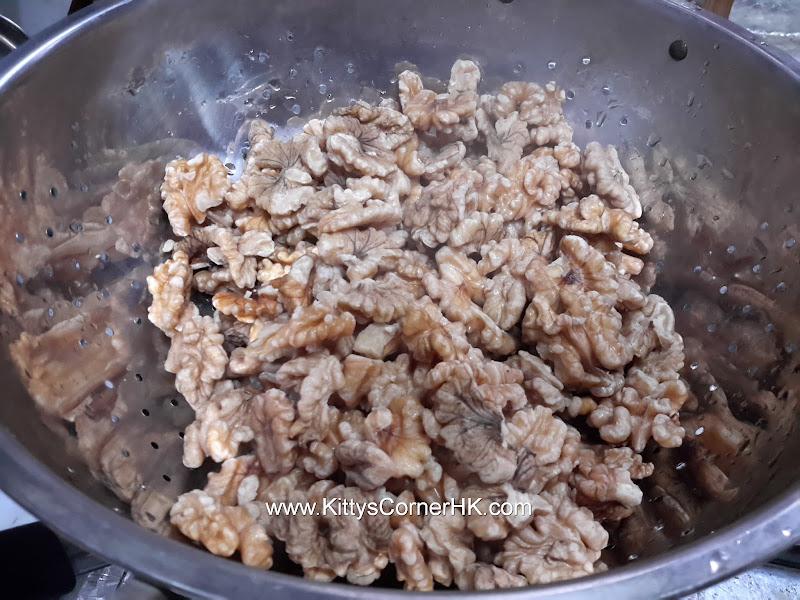 Amber walnut DIY recipe 琥珀核桃自家食譜