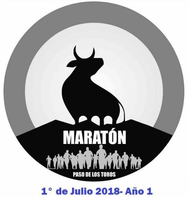 Maratón de Paso de los toros (42k 21k 10k 5k - Tacuarembó, 01/jul/2018)
