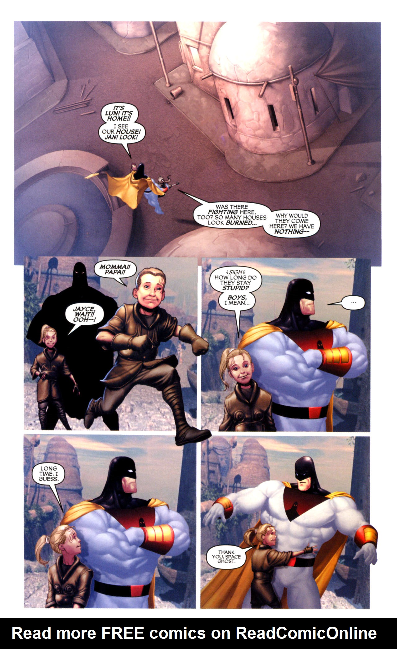 Read online Space Ghost (2005) comic -  Issue #5 - 4