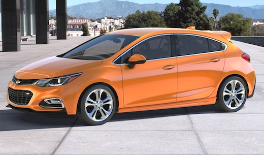 2019 Chevy Cruze Hatchback Rumors