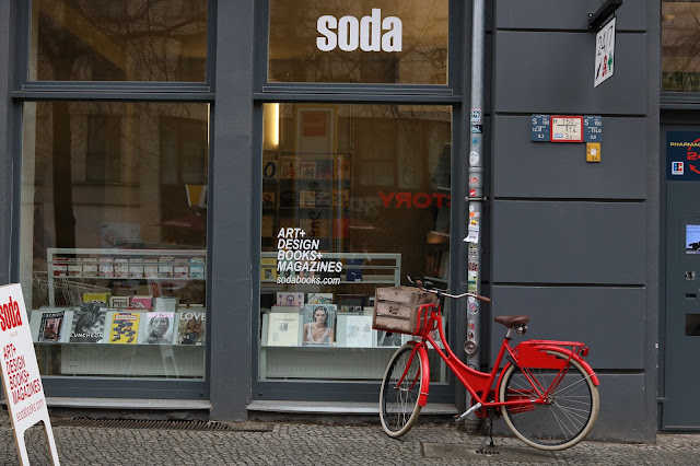 Soda magazine shop in Berlin
