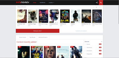 Website Streaming Film Belum Terblokir Internet Positif 2017