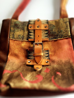 Brown Leather Luxury Bag