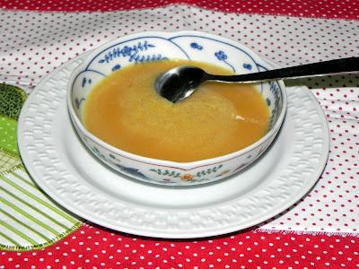 sopa simples de legumes