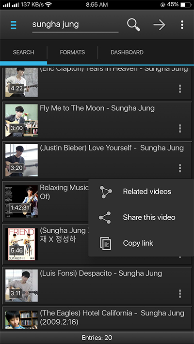 YouTube Downloader Application