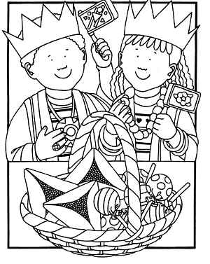 Kar ben publishing february 2012 for Purim coloring page