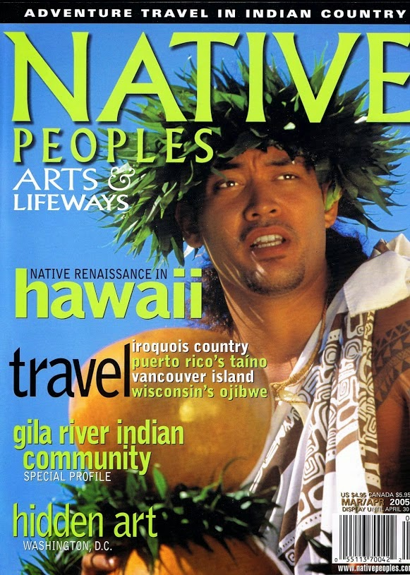 NATIVE PEOPLES MAGAZINE and MISHIBINIJIMA