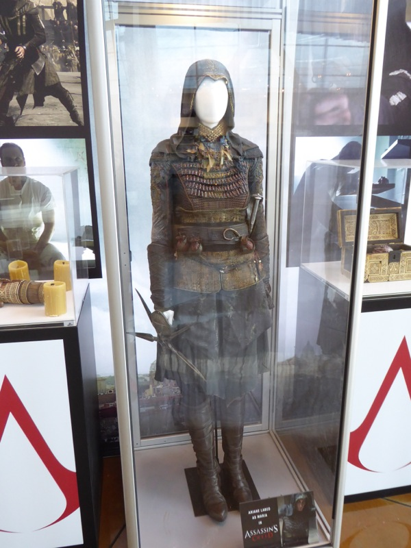 Ariane Labed Assassins Creed Maria movie costume