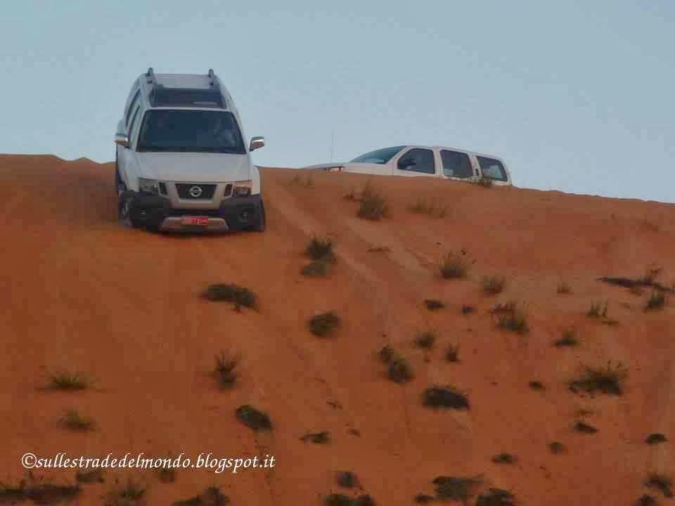 guidare nel deserto