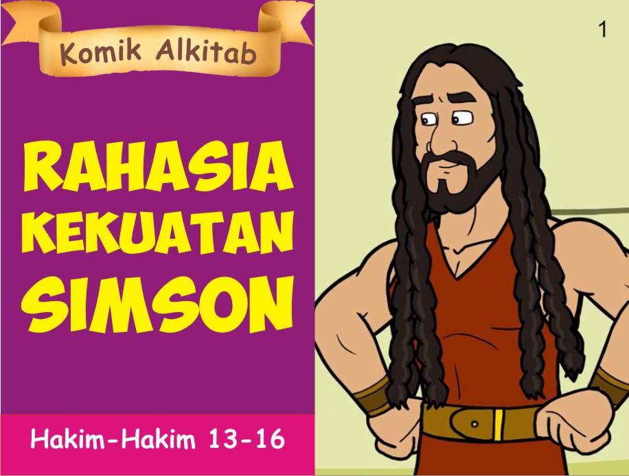 Daftar Judul Komik Alkitab Anak