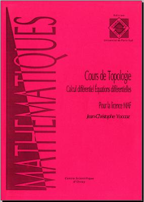 Cours de topologie Calcul différentiel, équations différentielles pour la licence MAF pdf