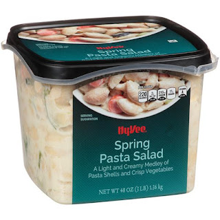 Salmonella Outbreak is said to be linked to HyVee Pasta Salad.