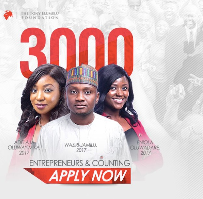 Tony Elumelu Foundation opens applications for 4th cycle of $100m entrepreneurship development programme
