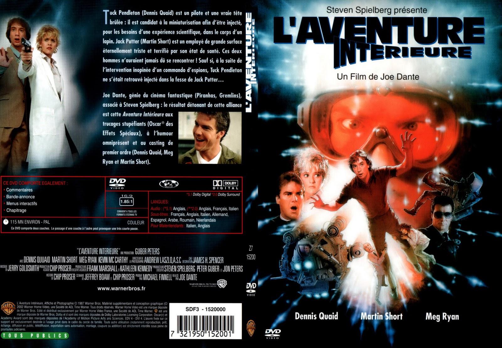 Jaquette dvd jaquette dvd l 39 aventure int rieure for L aventure interieur