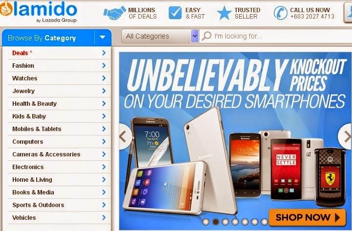 BE Nuffnang ke-8 : LAMIDO Digital Campaign