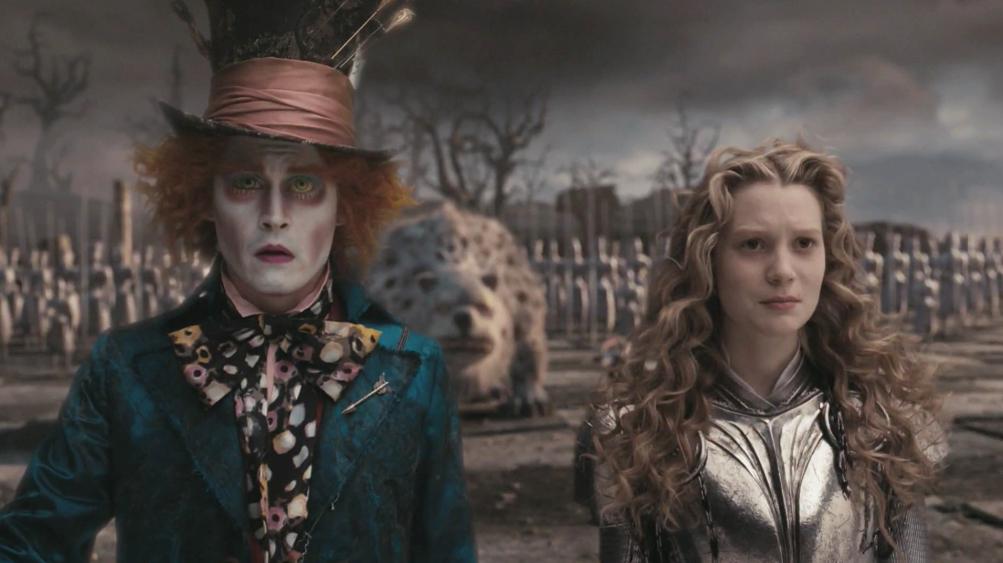 Alice Hatter Alice in Wonderland 2010 animatedfilmreviews.blogspot.com