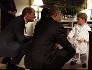 Michelle Obama Congratulates The Duke & Duchess Of Cambridge on The Birth Of Their Child