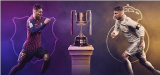 مشاهدة مباراة ريال مدريد وبرشلونة بث مباشر اليوم نصف نهائي كاس ملك اسبانيا 27-2-2019