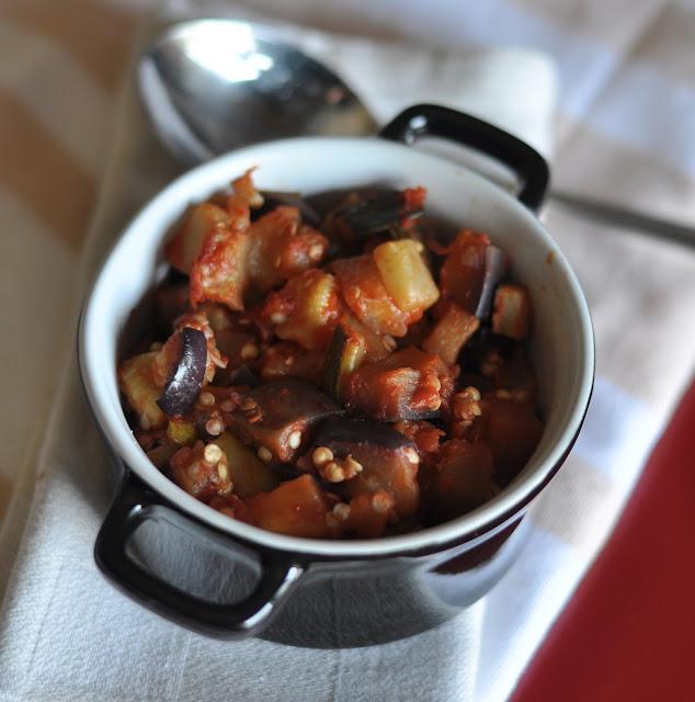 [I love food] Caponatina con zucchine e melanzane