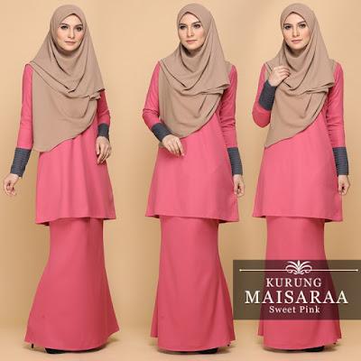 Cantiknya Kurung Maisaraa Dari Sweet Muslimah!!