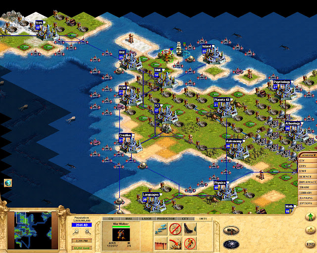 Civilization: Call to Power Diamond Era