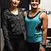 Fatima Sana Shaikh and Ritu Phogat face-off for the Beat My Speed challenge at the launch of Skechers GoRun 6