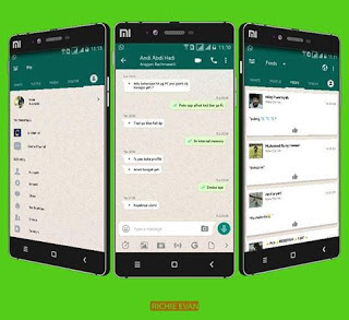 Kumpulan Tema BBM MOD Whatsapp v3.3.3.39 APK Terbaru Clone