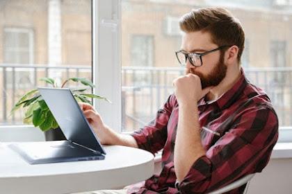 ASUS VivoBook Flip TP412, Laptop Convertible Fleksibel, Ringkas dan Ringan