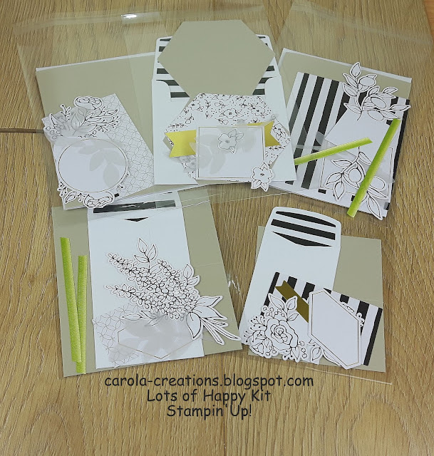 Stampin'Up! Lots of Happy Card Kit